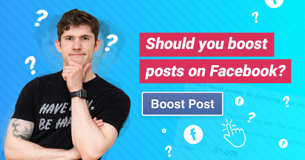 Facebook boost post vs Facebook ads