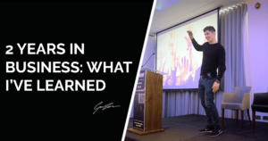 37 Business Lessons 2 years