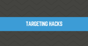Facebook Ads Targeting Hacks
