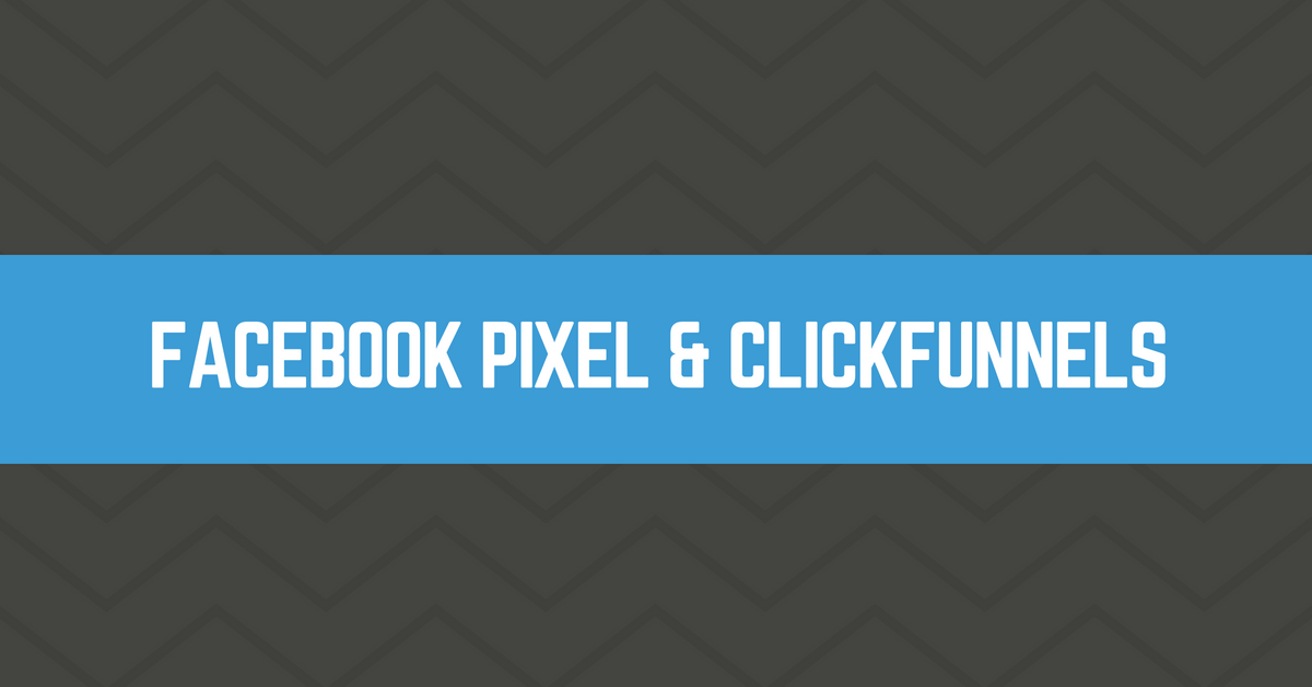 how to install facebook pixel on clickfunnels