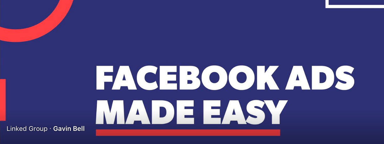 Facebook Ads Made Easy Facebook GRoup