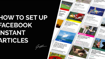 How to Set Up Facebook Instant Articles