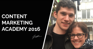 Content Marketing Academy 2016