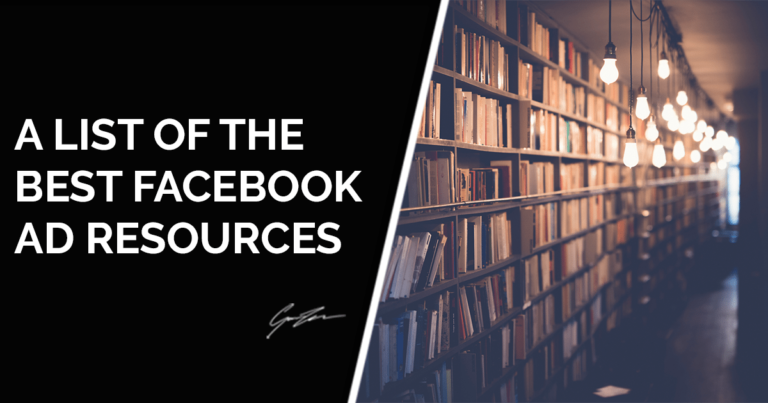 Facebook Ads Guide- A List Of The Best Resources