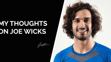 My thoughts on Joe Wicks: The Body Coach