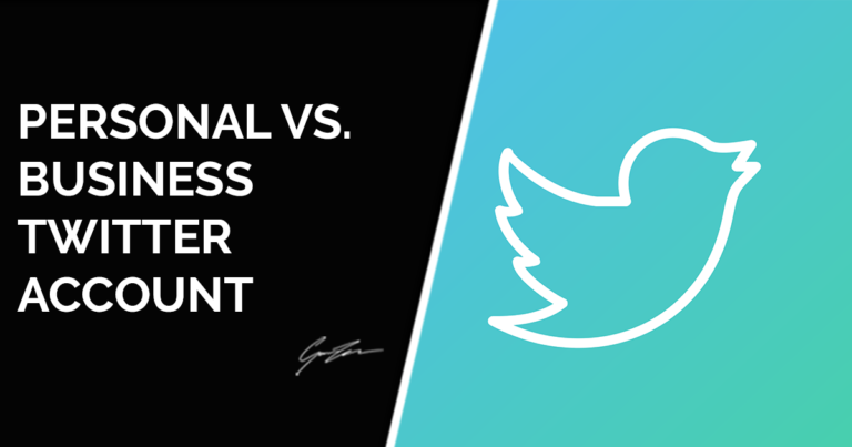 Personal vs. Business Twitter account: which is best?