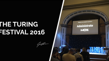 The Turing Festival 2016: My 3 Top Takeaways