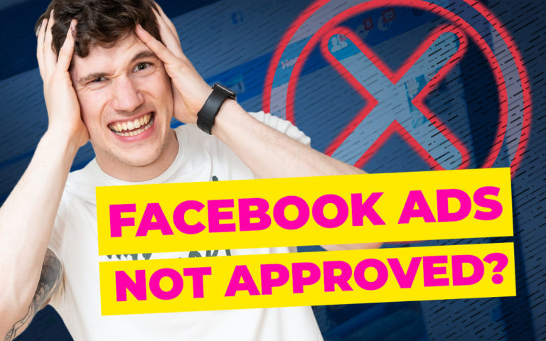 Facebook ads not approved